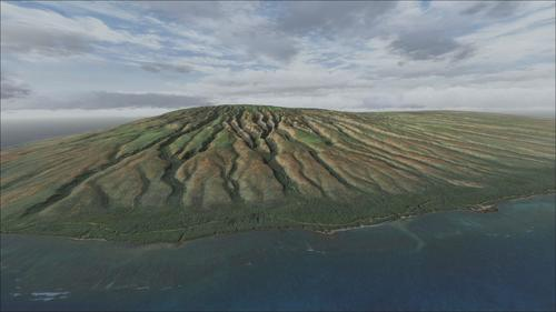 Hawaii Fotogerçek Vol 1 + Cilt 2 + Cilt 3 FSX  &  P3D
