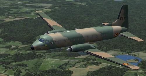 Hawker-Siddeley HS.748 Bheilg Air Force FSX & P3D