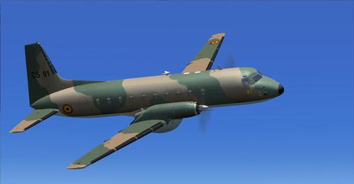 Hawker-Siddeley HS.748 Belgium Air Force FSX & P3D