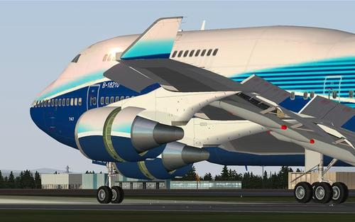 ቦይንግ iFly 747-400 V1.1.0.0 FSX እና P3D