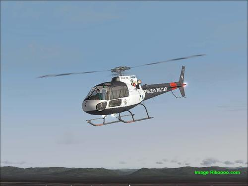 Eurocopter AS 350 Ecureuil - Policia FS2004