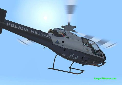 Eurocopter 350 Ecureuil AS - Policia FS2004