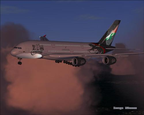 Airbus A380 Falastin Airlines FS2004