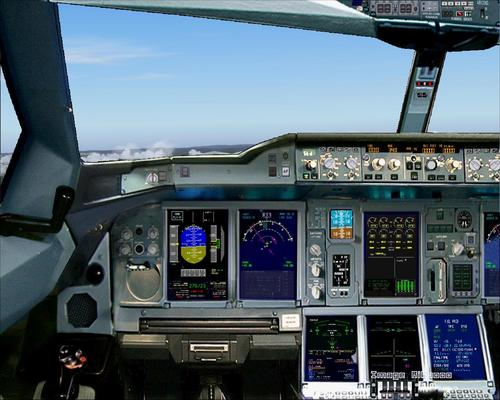 Airbus A380 Палестины Airlines FS2004