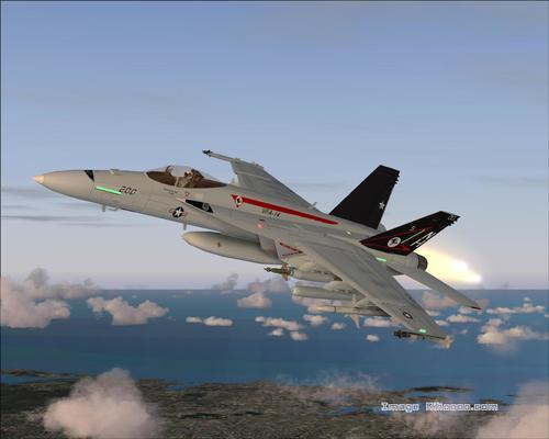 Boeing F / A 18E Σούπερ Hornet FS2004