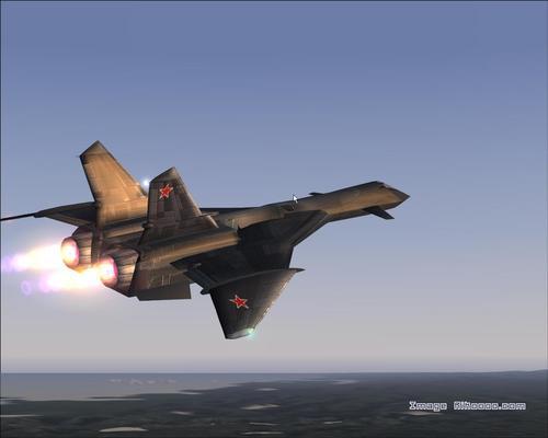 Mig-31 Firefox elfogás FS2004