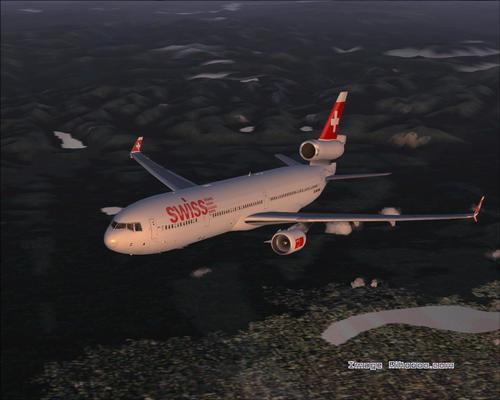 McDonnell Douglas MD-11 Swiss FS2004