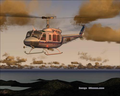 Bell 205 HU-A1 irokéz FS2004