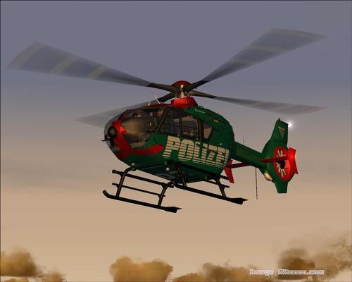 歐洲直升機公司EC 135 Polizei FS2004