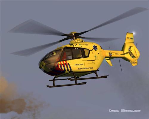 Eurocopter 135 ph-Ems Medical FS2004