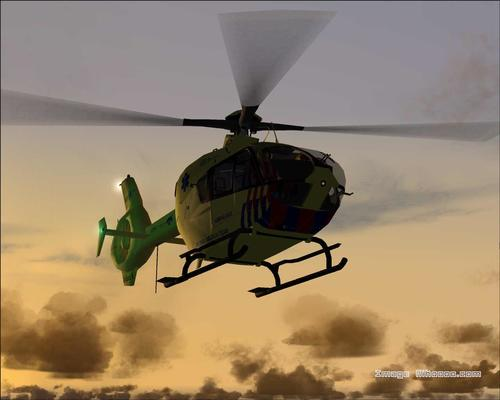 Eurocopter 135 ph-ems Équipe Médicale Mobile FS2004
