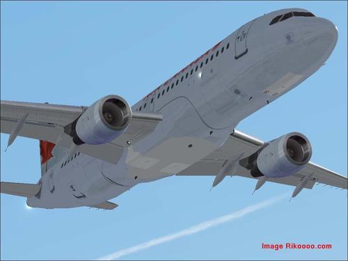 Airbus A320-211 Air Canada 2005 FS2004