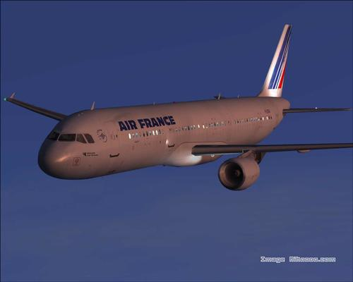 Airbus A321-211 Air France FS2004