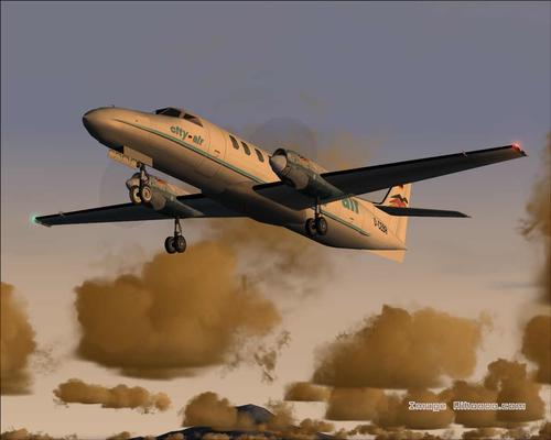 Fairchild City Air Metroliner III Passagerar FS2004
