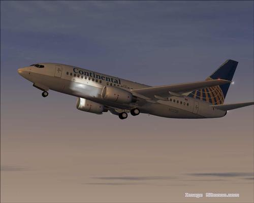 Boeing 737-700 Reynsla Continental Airlines FS2004