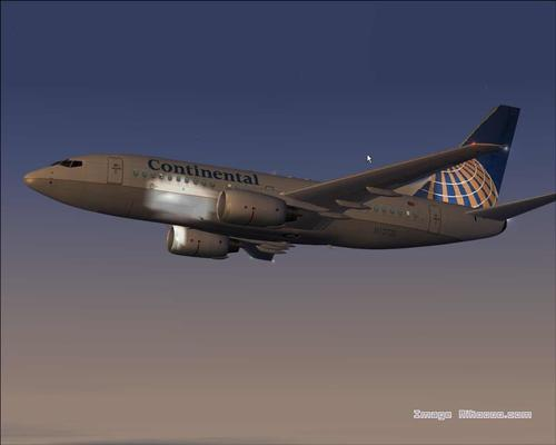 Boeing 737-700 Experience Continental Airlines FS2004