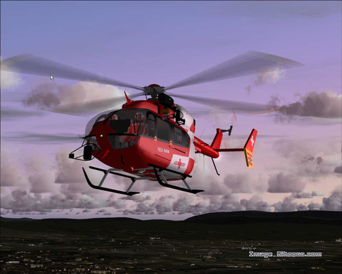 Eurocopter EC145 REGA Switzerland Air Pholoso FS2004