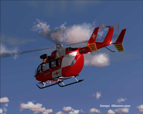 Eurocopter EC145 REGA Swiss Air Rescue FS2004