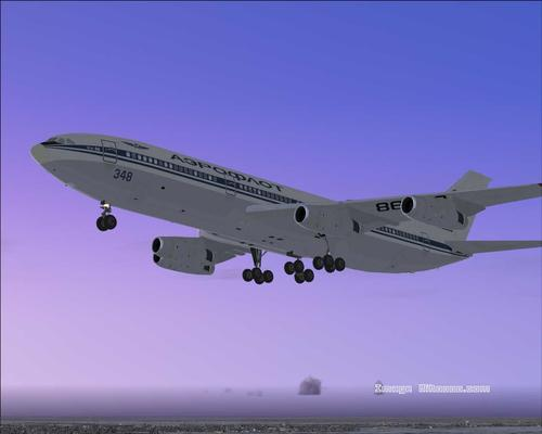 Ilyushin Il-86 Package ကို FS2004