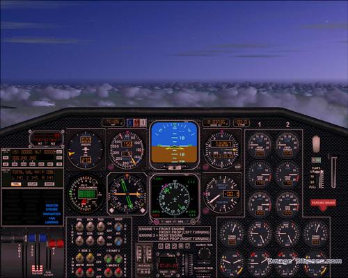 Stratojet Merlin FS2004