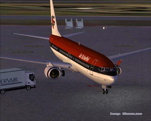 Boeing 737 800-Air Scheffel FS2004