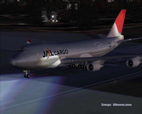 Boeing 747-400 JAL Cargo FS2004