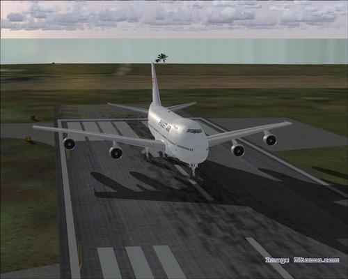 ဘိုးအင်း 747-2U3B ဖူးခက်လေကြောင်း FS2004