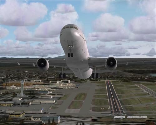 Boeing 767-300ER Air France FS2004