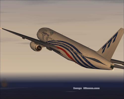 Boeing 777-300ER House Colors FS2004