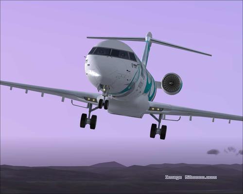 Bombardier CRJ-900 House Färger FS2004