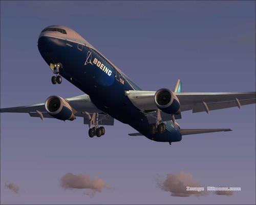 Boeing 767-400 House Colours FS2004