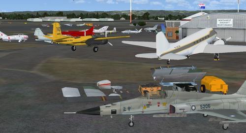 Hillsboro Aeroporto Khio FSX & P3D