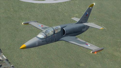 L-39 Albatros katonai edzőcsomag FSX  &  P3D