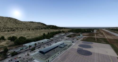 OFX Calvi St-Catherine Airport LFKC FSX  &  P3D