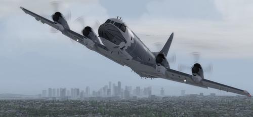 Lockheed CP-140 Aurora Royal Canadian Air Force FSX & P3D