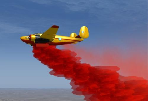 Lockheed PV-2 Harpoon Fire Tanker пакеті FSX және P3D