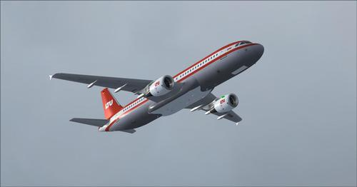 LTU International Airways vloot FSX & P3D