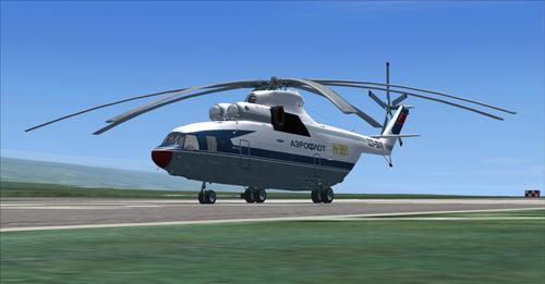 Mil Mi-26 FSX और P3D