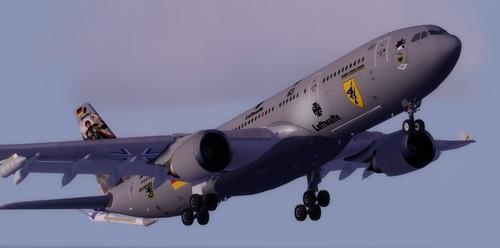 टम एयरबस एक्एक्सएनमूएम MRTT FSX  &  P3D