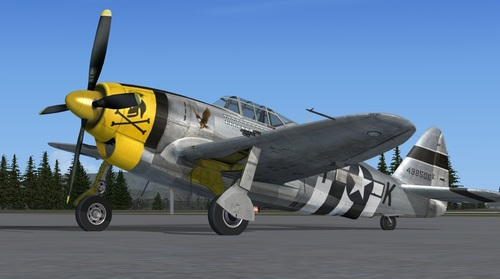 Republika XP-47J Escort FSX & P3D