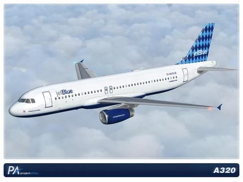 JetBlue A320 Mega Pack ကို FSX & P3D