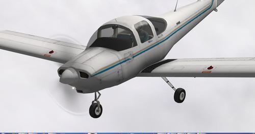Piper PA-38 Tomahawk v1.0 X-Plane 10