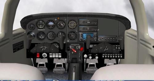 Piper PA-38 Tomahawk v1.0 X-Plane 9