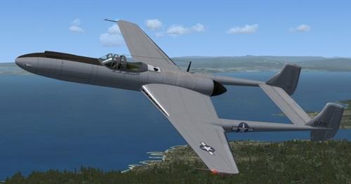 Vultee XP-54 FS2004