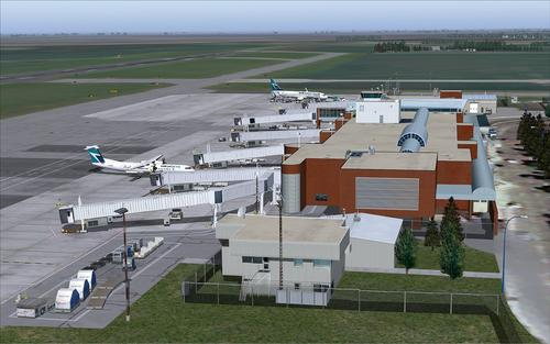 Regina Intl Flughafen CYQR FS2004