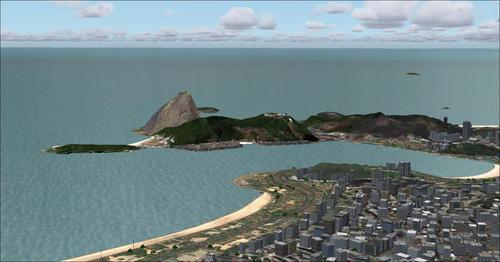 रियो डी जनेरियो photoreal V9.0 FS2004