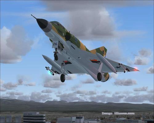 Dassault Mirage III ကို EZ FS2004