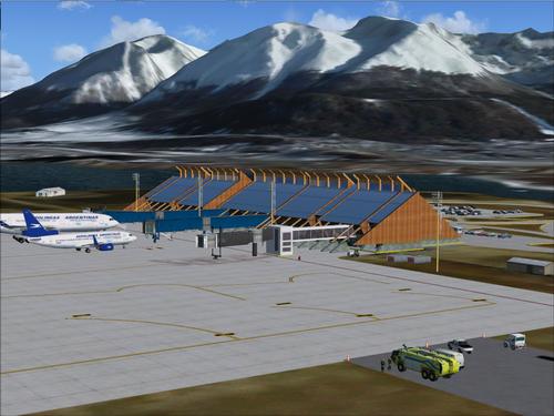 Ushuaia Malvinas Argentinas Intl Airport FSX & P3D
