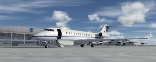 I-Bombardier / i-Northrop Grumman E-11A i-Sentinel FSX  &  P3D