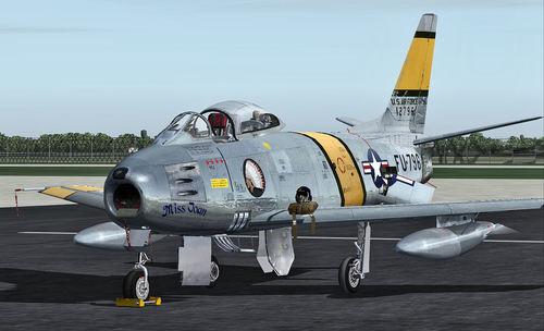 North American F-86 CT Sabre FSX